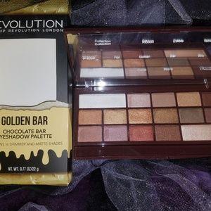 Makeup Revolution Golden Chocolate Bar